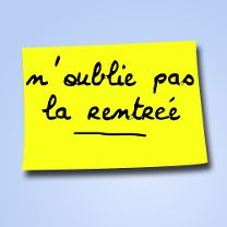 Post it rentrée