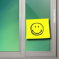 Post it smile