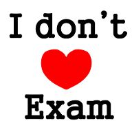I dont love exam