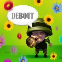 Capitaine Alerte - Debout