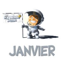 Capitaine Space Janvier