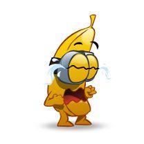 Banana sad