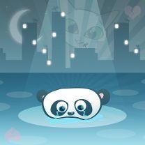 Larmes de panda