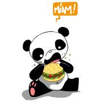 Panda bouffe