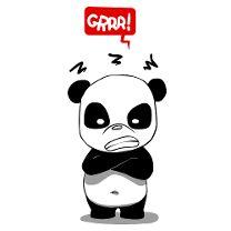 Panda colère