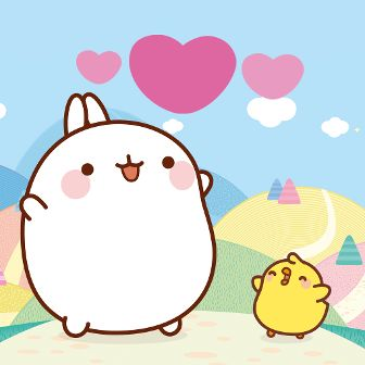 Molang Stickers